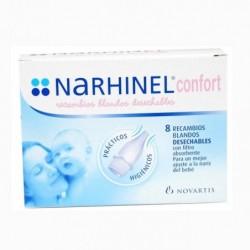 NARHINEL CONFORT 8 RECAMBIO BLANDOS DESECHABLES