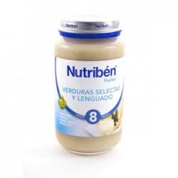 POTITO NUTRIBEN GRANDOTE LENGUADO VERDURAS 250 GR