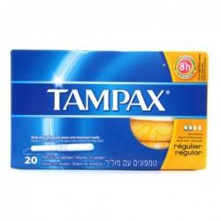 TAMPAX TAMPONES REGULAR 20 UDS
