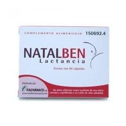 NATALBEN LACTANCIA 60CAPS