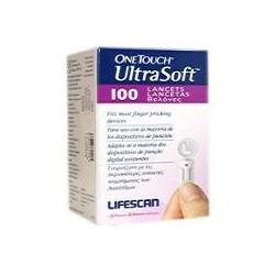 LANCETAS ONE TOUCH ULTRA SOFT 100 LANCETAS