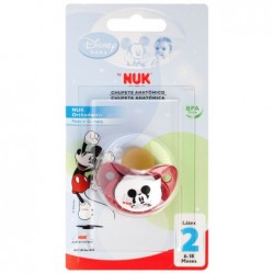 CHUPETE NUK LATEX ANATOMICO DISNEY MICKEY T2...