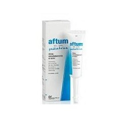 AFTUM PEDIATRICS GEL ORAL 15 ML