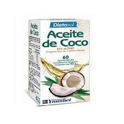 DIETASOL ACEITE DE COCO 60 PERLAS
