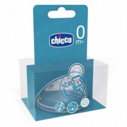 TETINA CHICCO SILICONA STEP UP 1 0M+ FLUJO...