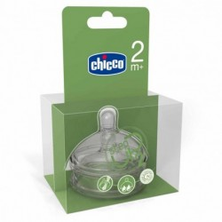 TETINA CHICCO SILICONA STEP UP 2 4M+ FLUJO...