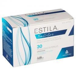 ESTILA TOALLITAS ESTERILES 30 UNIDADES