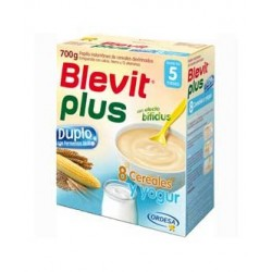 BLEVIT PLUS DUPLO 8 CEREALES YOGUR 700 GR