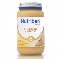 POTITO NUTRIBEN GRANDOTE POSTRE 6 FRUTAS 250 GR