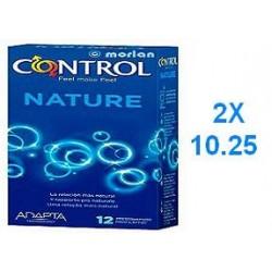 PRESERVATIVOS CONTROL ADAPTA NATURE DUPLO 2 X...