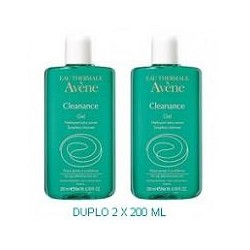 AVENE CLEANANCE GEL LIMPIADOR DUPLO 2 x 200 ML