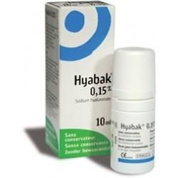 HYABAK SOLUCION 10 ML